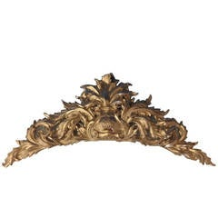 Grande Imperiale by Buccellati Sterling Silver Headboard Wall Decor, Italy