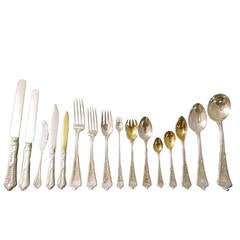 Persian by Tiffany & Co. Sterling Silver Flatware Service Dinner Set, 266 Pieces