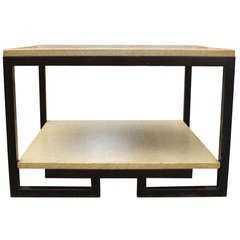 Paul Frankl Two-Tier Cork Table