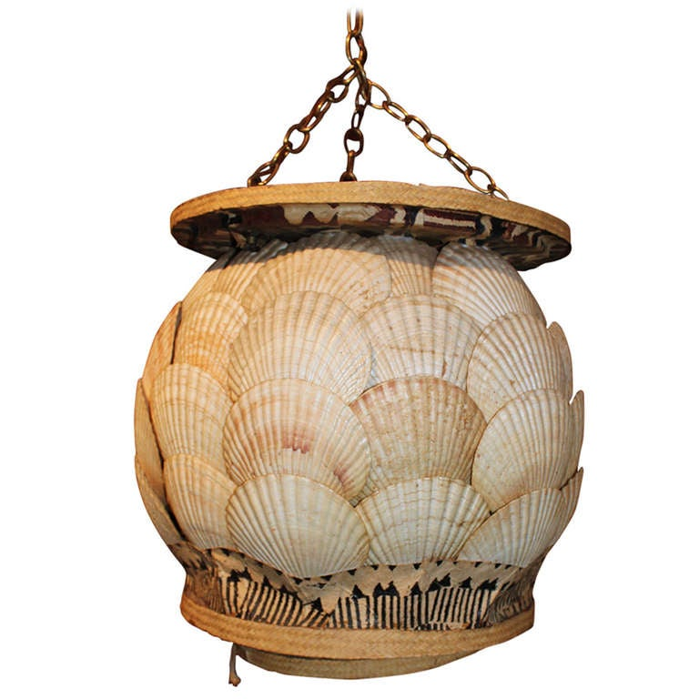 Seashell Chandelier For Sale at 1stdibs