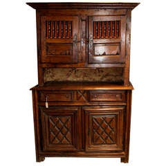 French 4 door cabinet