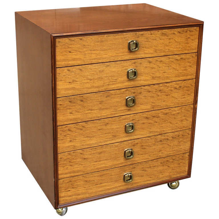 Ed Wormley Six Drawer Chest for Dunbar 1