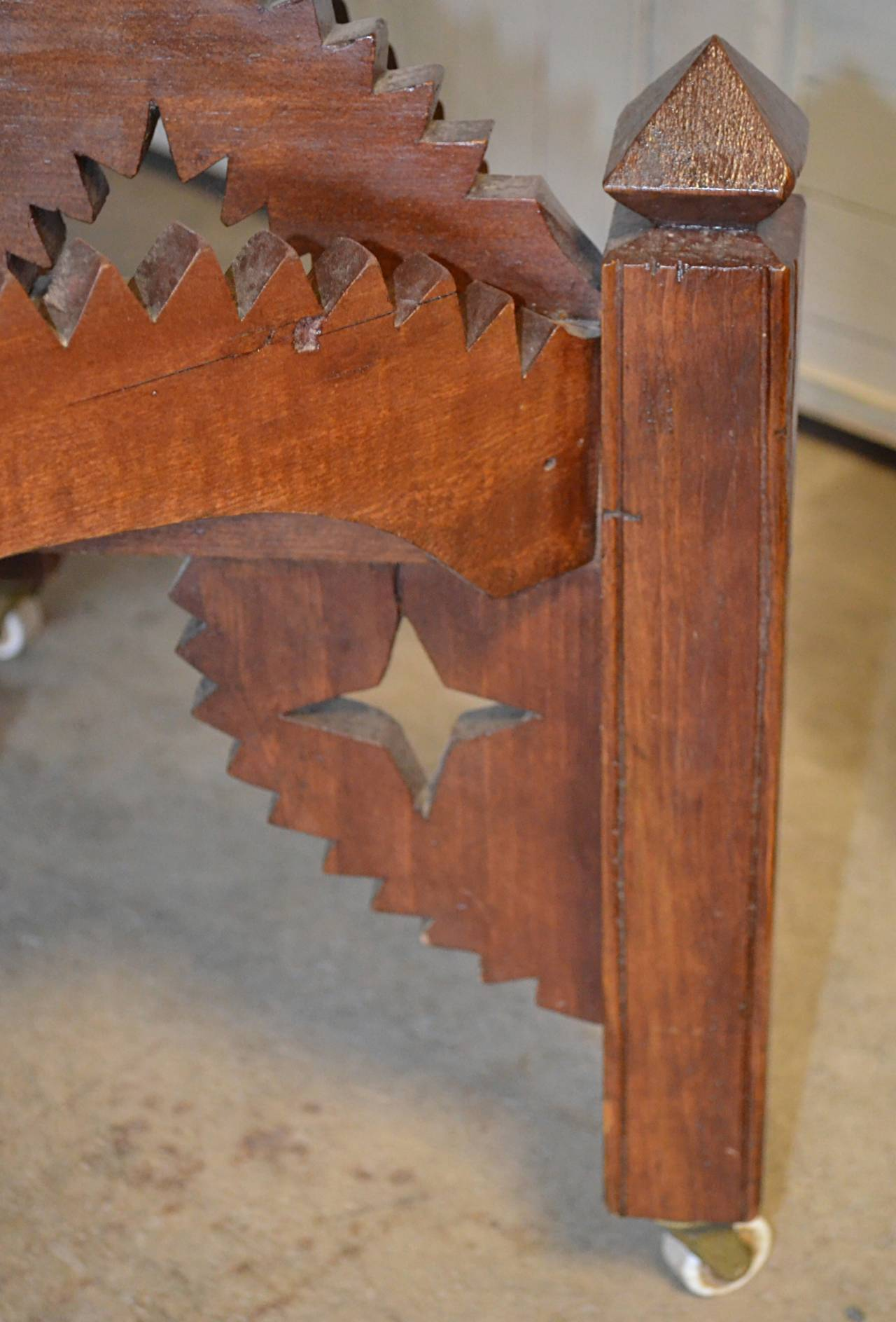 American Folk Art Occasional Table For Sale 4