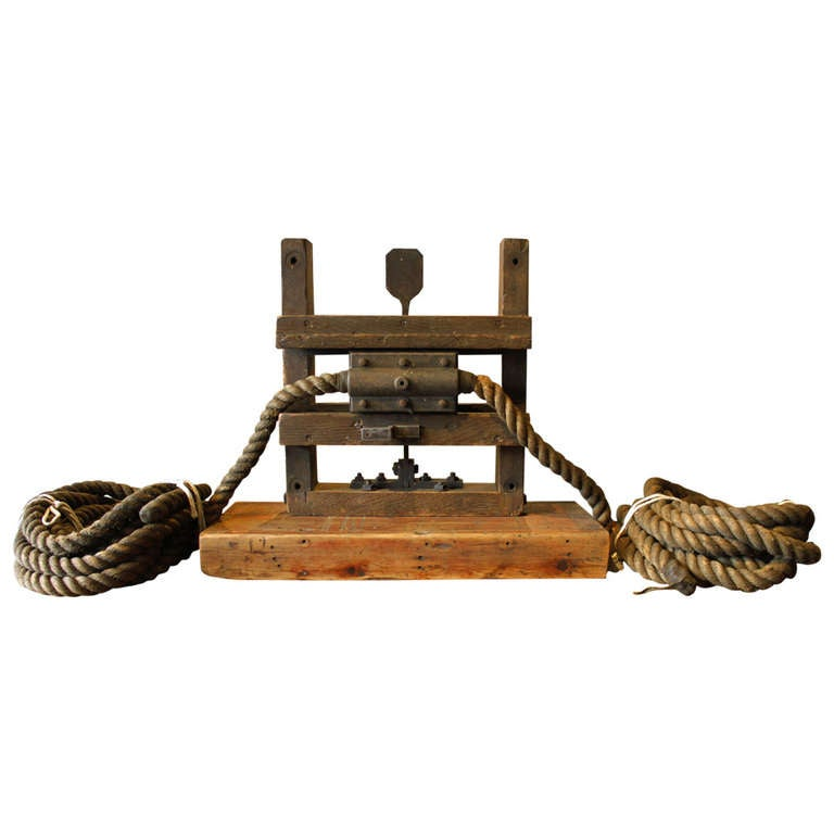 Rope Pull Exercise Machine