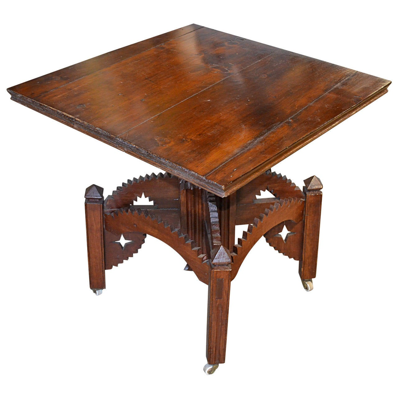 American Folk Art Occasional Table For Sale