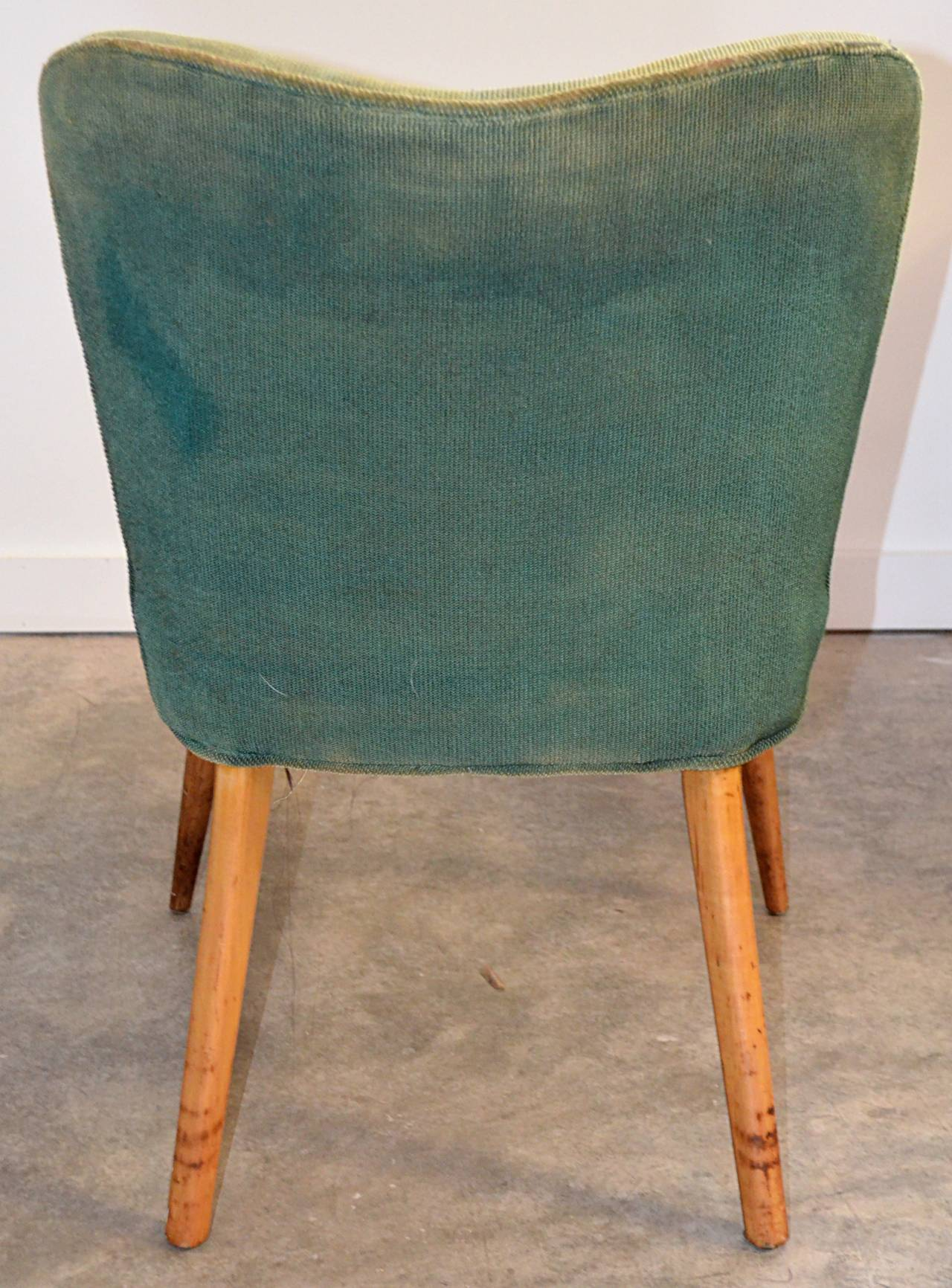 Pair of Modernist Side Chairs 6