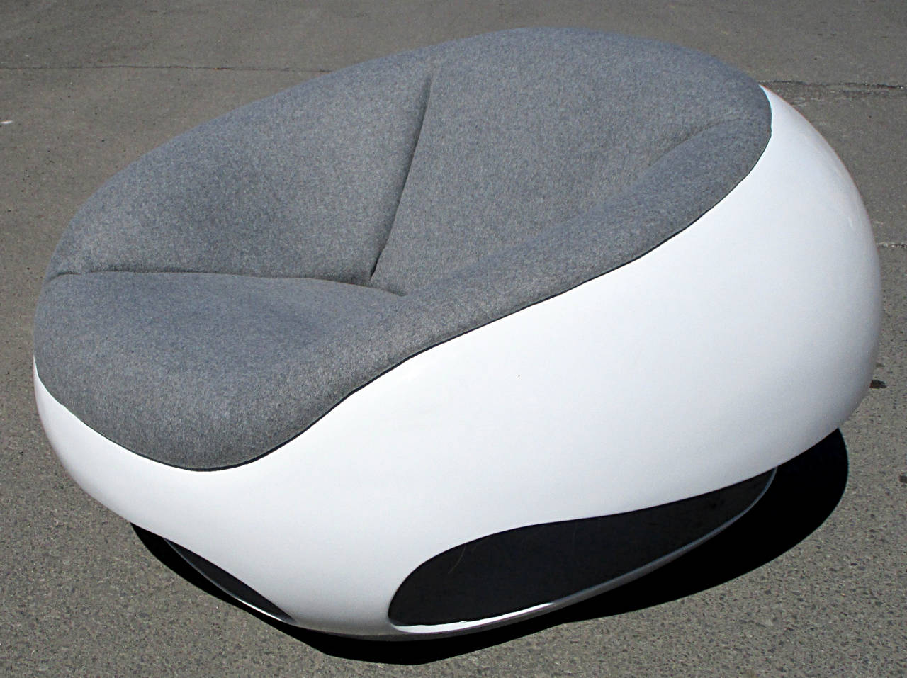 pod chair by mario sabot at 1stdibs