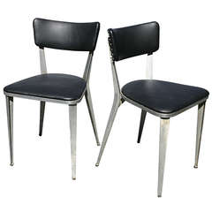 Ernest Race BA3 Side Chairs set of 4