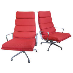 Charles and Ray Eames Soft Pad Executive Chair