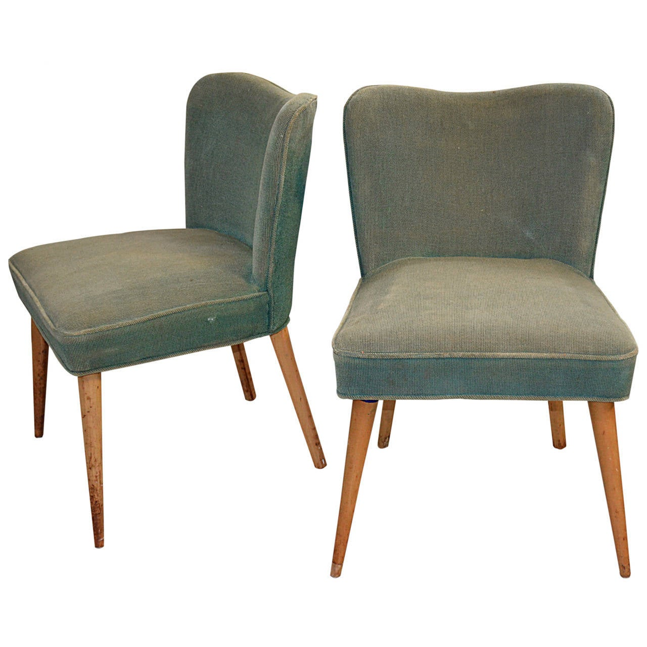 Pair of Modernist Side Chairs 1