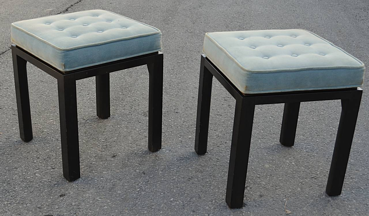Pair Of Stools / Benches By Harvey Probber 2