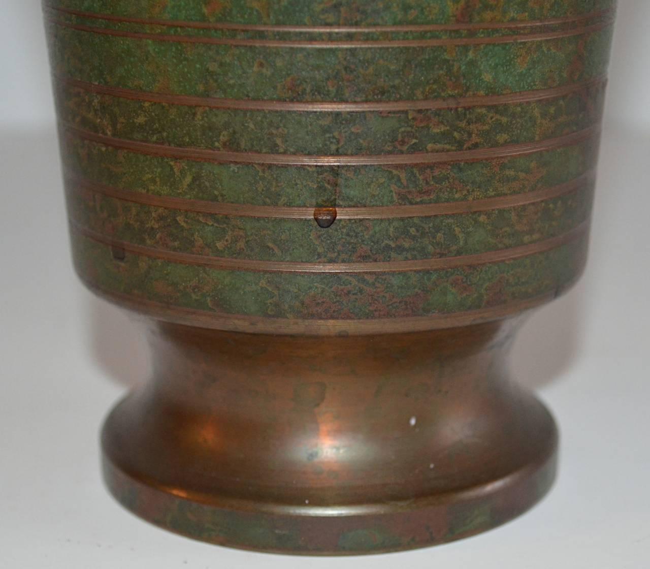 Carl Sorensen Three-Piece Bronze Table, Article Collection 4