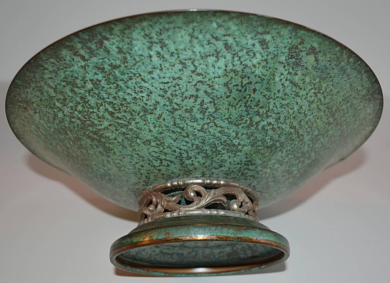 Carl Sorensen Three-Piece Bronze Table, Article Collection 7