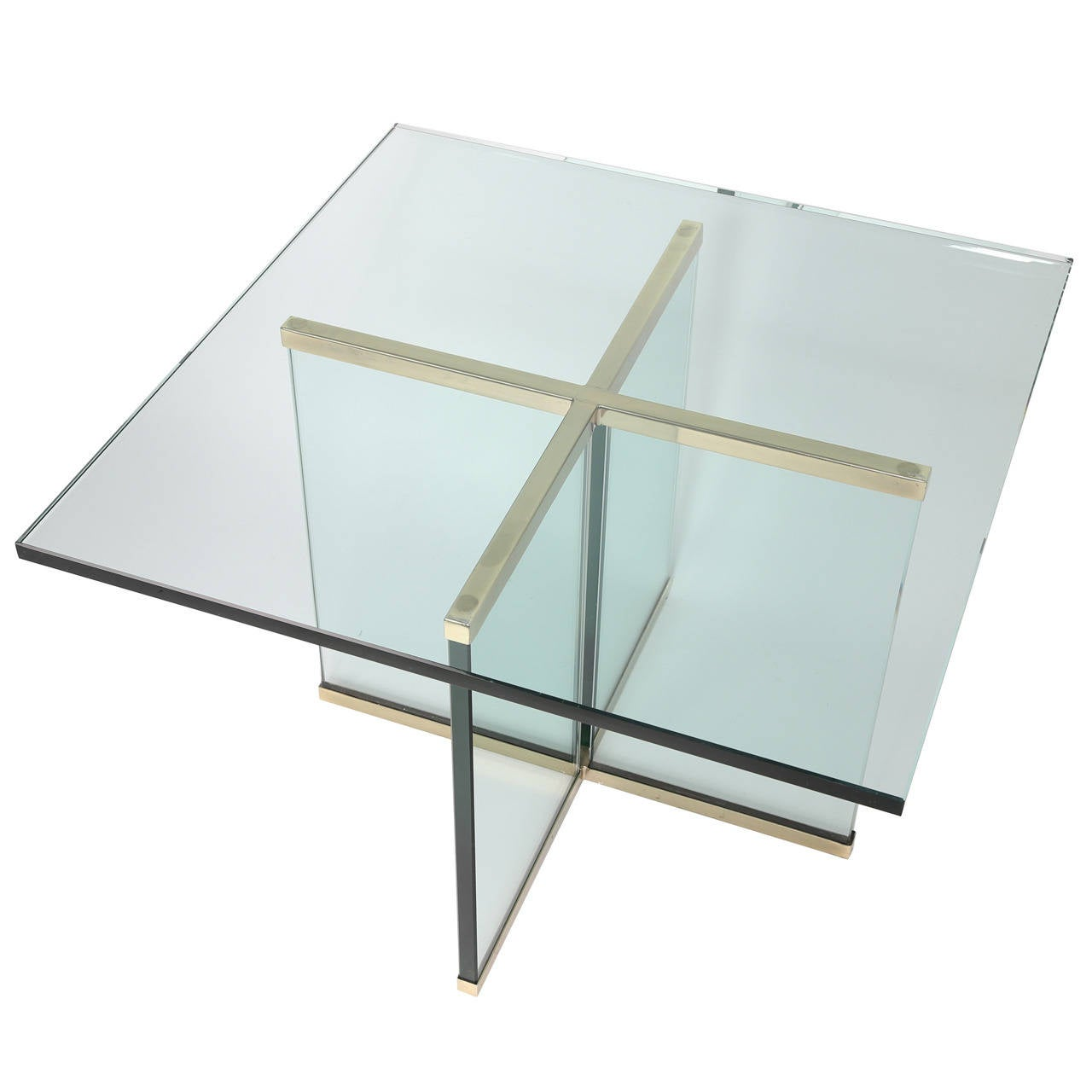 1970s leon rosen for pace collection brass and glass end table for 1970s leon rosen for pace collection brass and glass end table 1 geotapseo Choice Image
