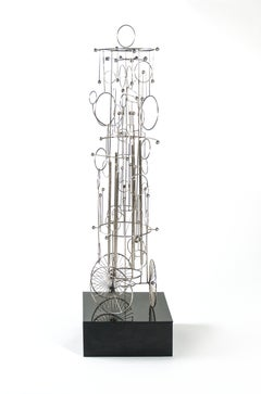 Joseph Burlini Kinetic Sound Sculpture, Circa 1970s