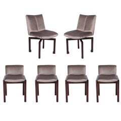 Set of Six 1950s Vladimir Kagan Dining Chairs