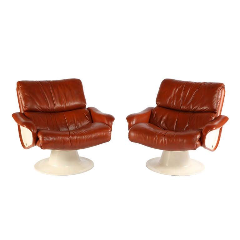 "1960s Yrjo Kukkapuro ""Saturn"" Lounge Chairs"