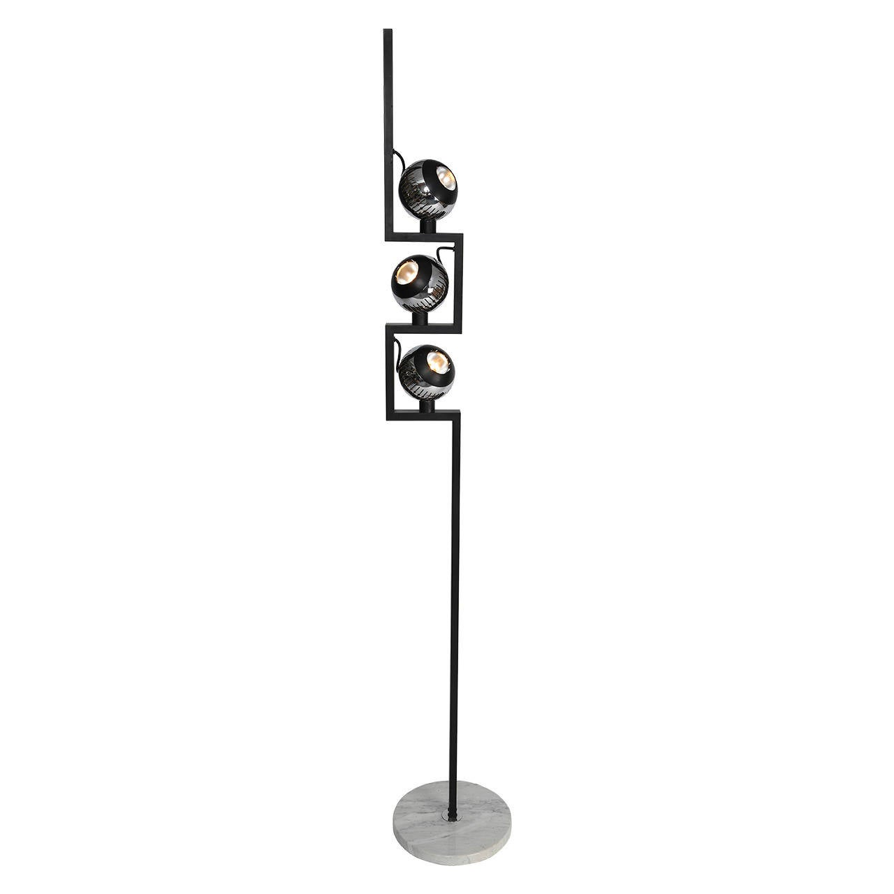 1970s Angelo Lelli for Arredoluce Floor Lamp