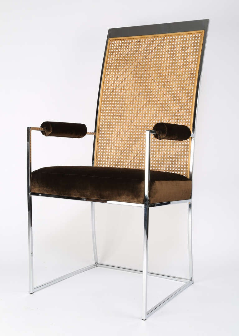 this milo baughman cane back dining chairs is no longer available