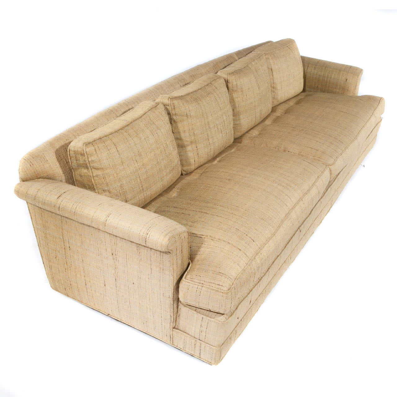American 1950s Four-Seat Sofa by Edward Wormley for Dunbar For Sale