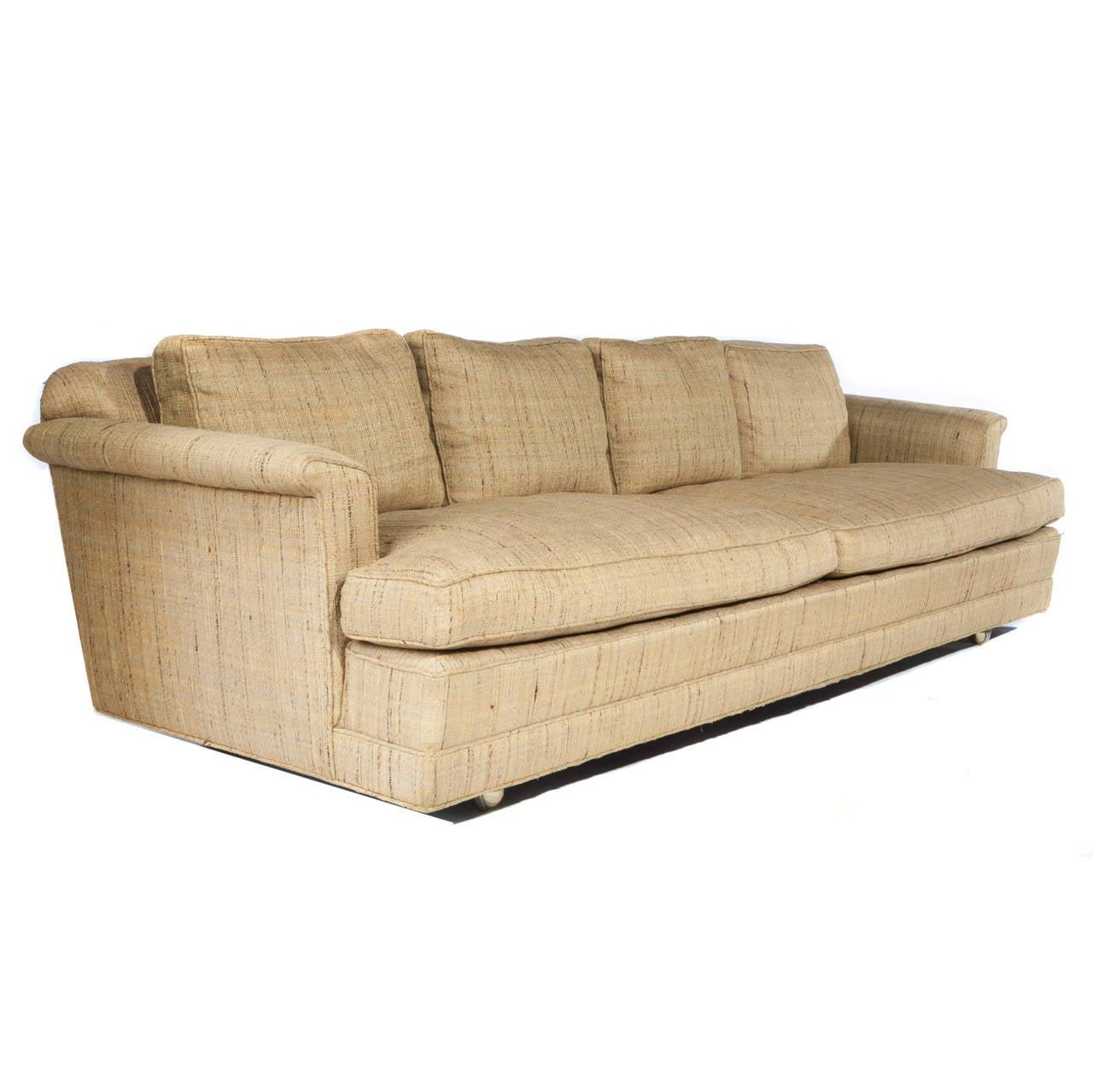 1950s Four-Seat Sofa by Edward Wormley for Dunbar 6