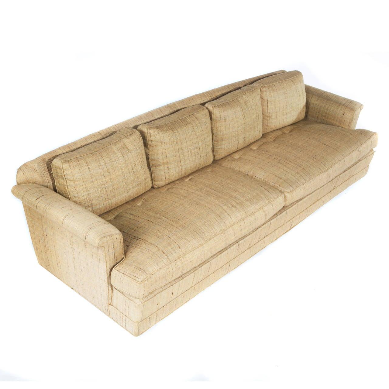 1950s Four-Seat Sofa by Edward Wormley for Dunbar 7