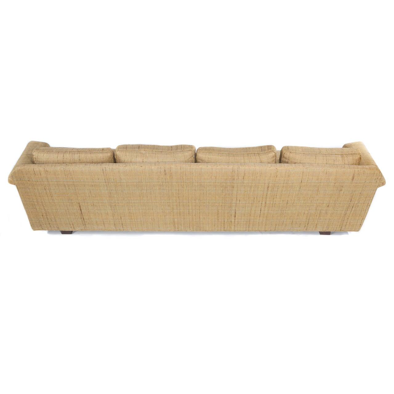1950s Four-Seat Sofa by Edward Wormley for Dunbar 9