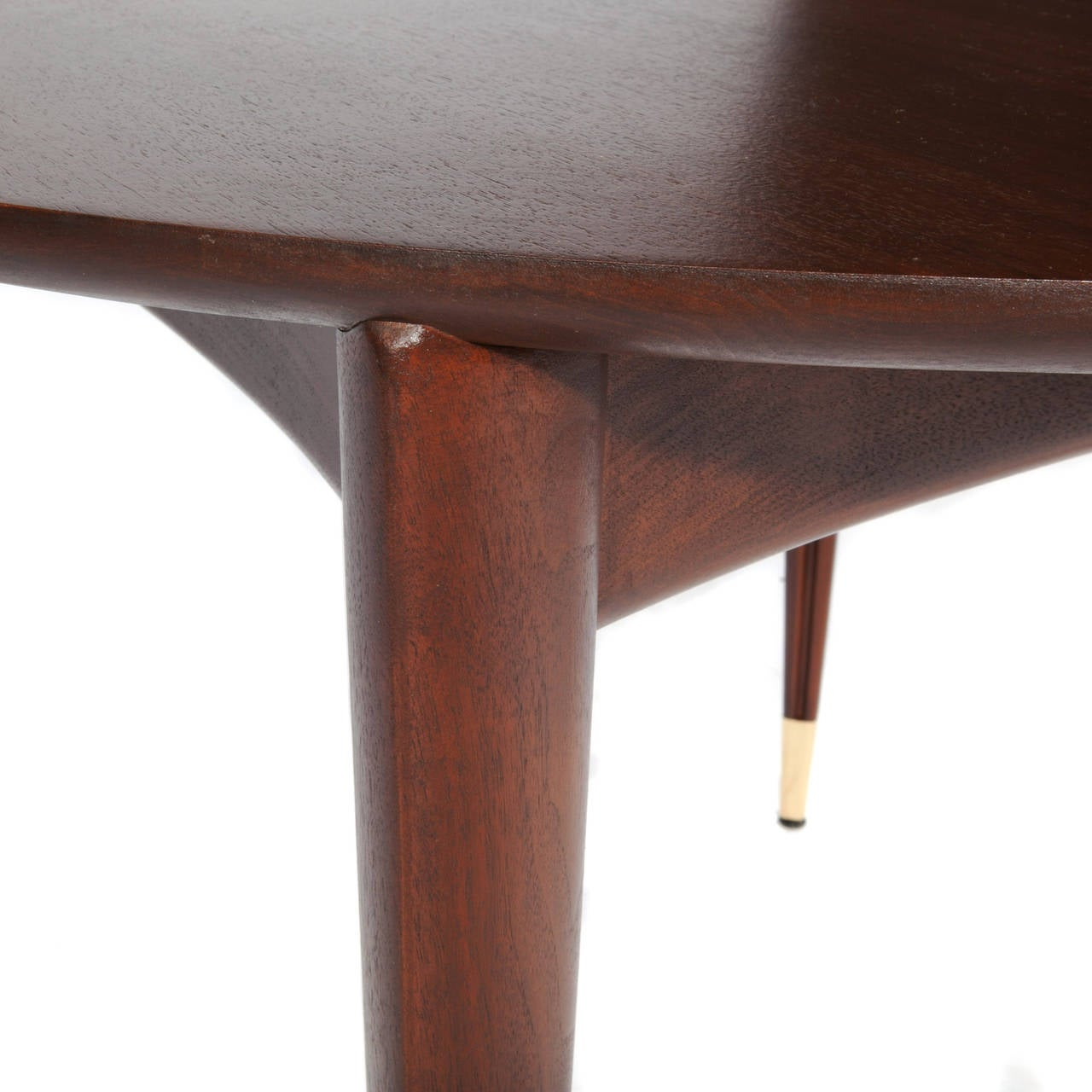 Walnut Extension Dining Table by Gio Ponti at 1stdibs : 08l from www.1stdibs.com size 1280 x 1280 jpeg 111kB