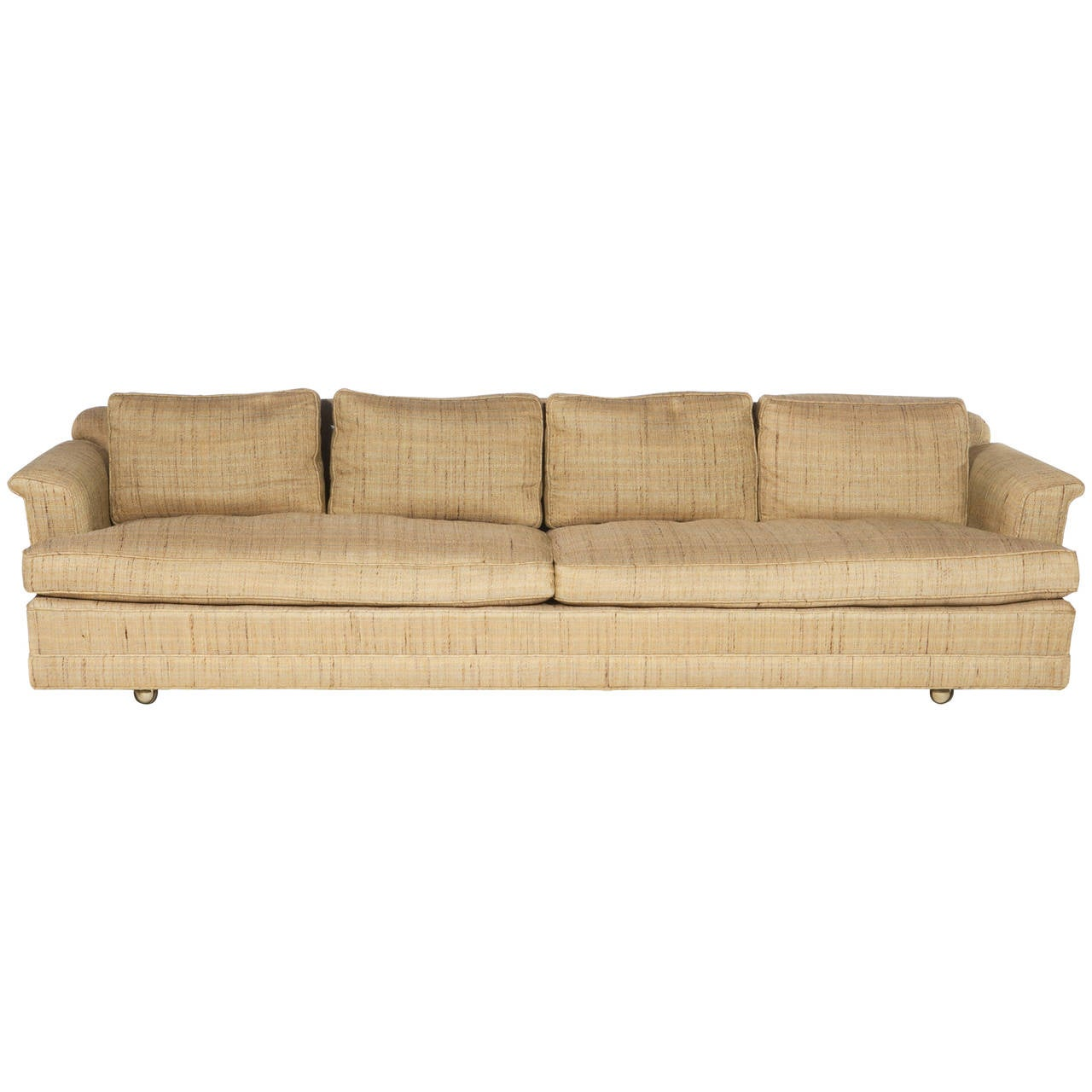 1950s Four-Seat Sofa by Edward Wormley for Dunbar For Sale