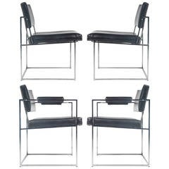 Dining Chairs by Milo Baughman for Thayer Coggin