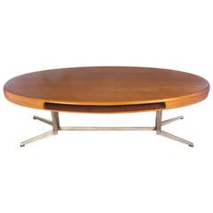 Johannes Andersen Capri Teak Coffee Table, Circa 1960s