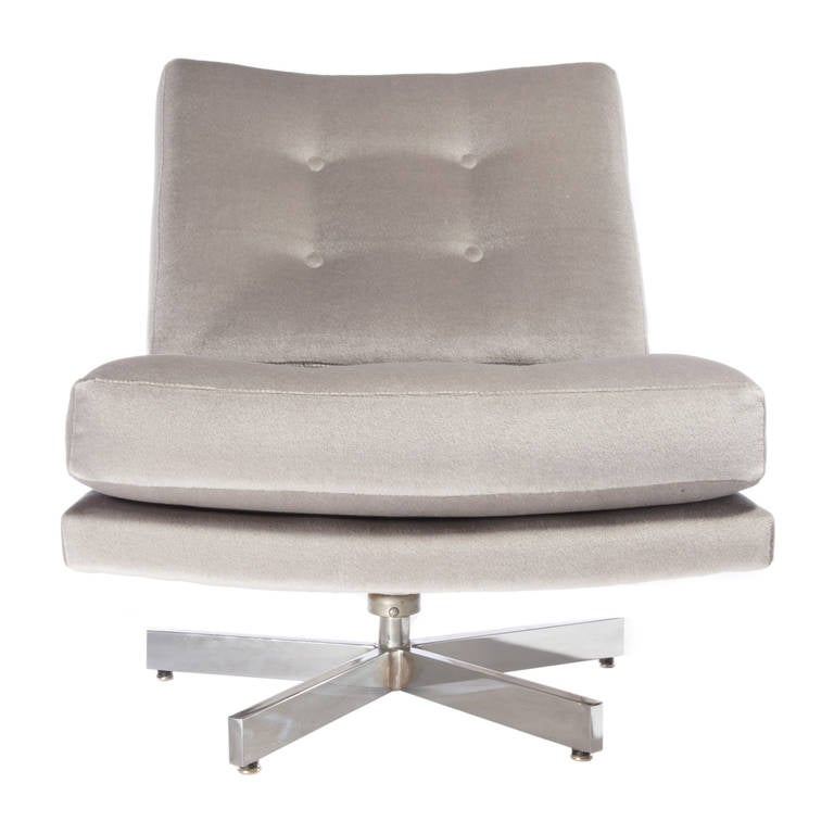 Milo Baughman Swivel Chair 2