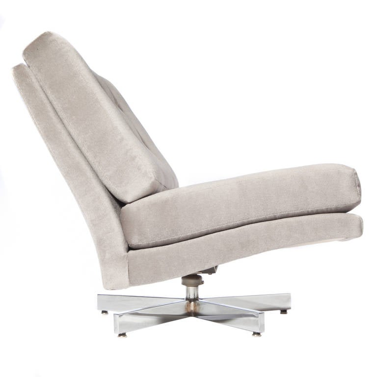 Milo Baughman Swivel Chair 4