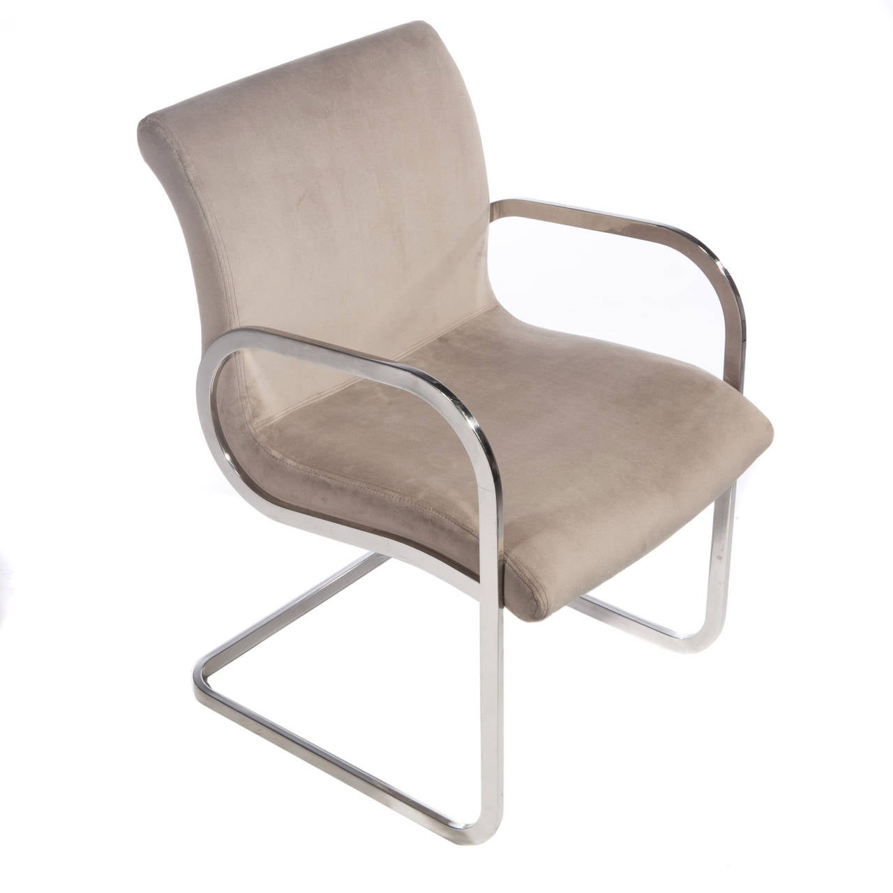 Pair Of 1970s Ghia Chairs By Charles Gibilterra For