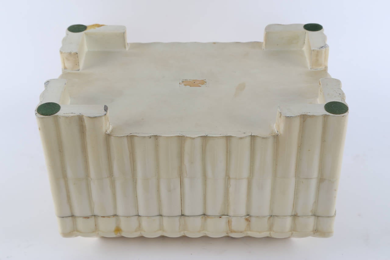 1980s Tessellated-Bone Box by Enrique Garces For Sale 4
