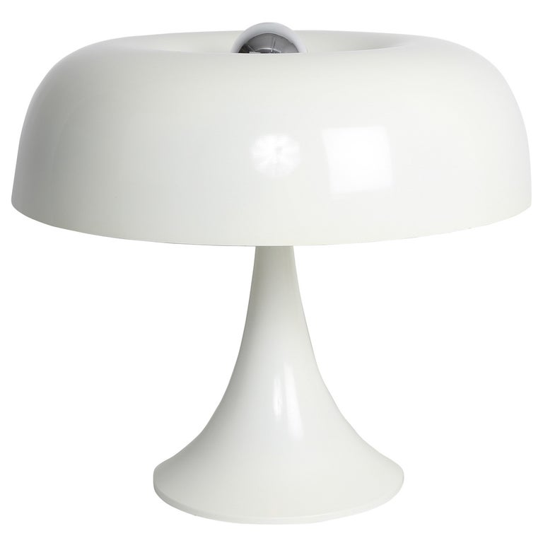 Groovy Robert Sonneman Mushroom Table Lamp, circa 1970s For Sale