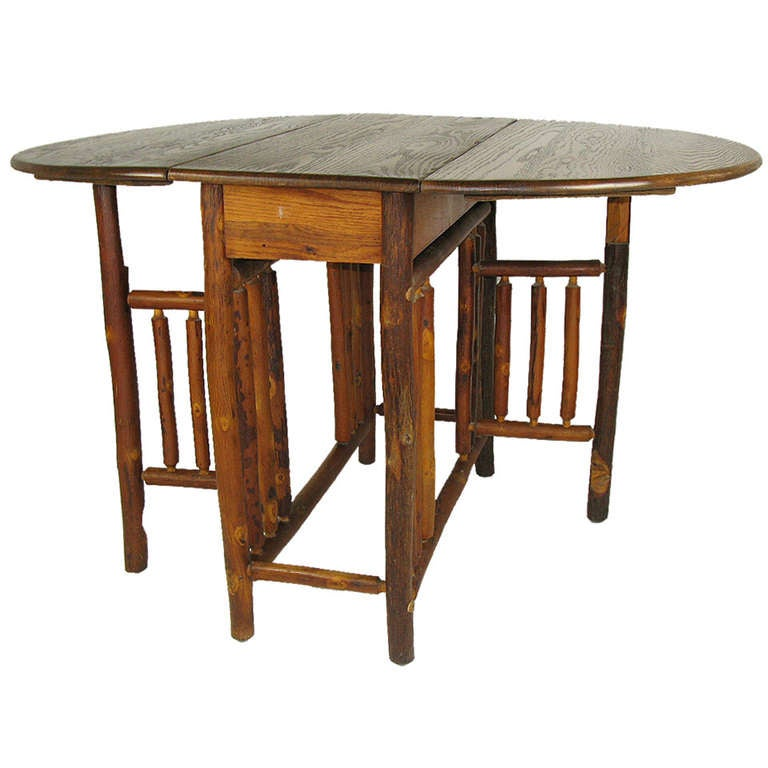 Old Hickory Gateleg Table At 1stdibs