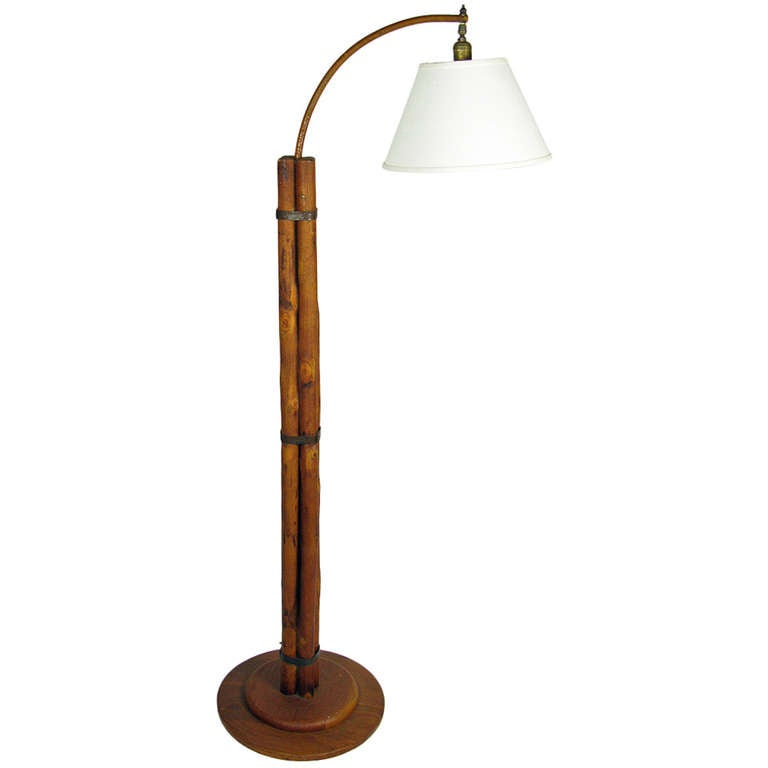 Old Hickory Floor Lamp At 1stdibs