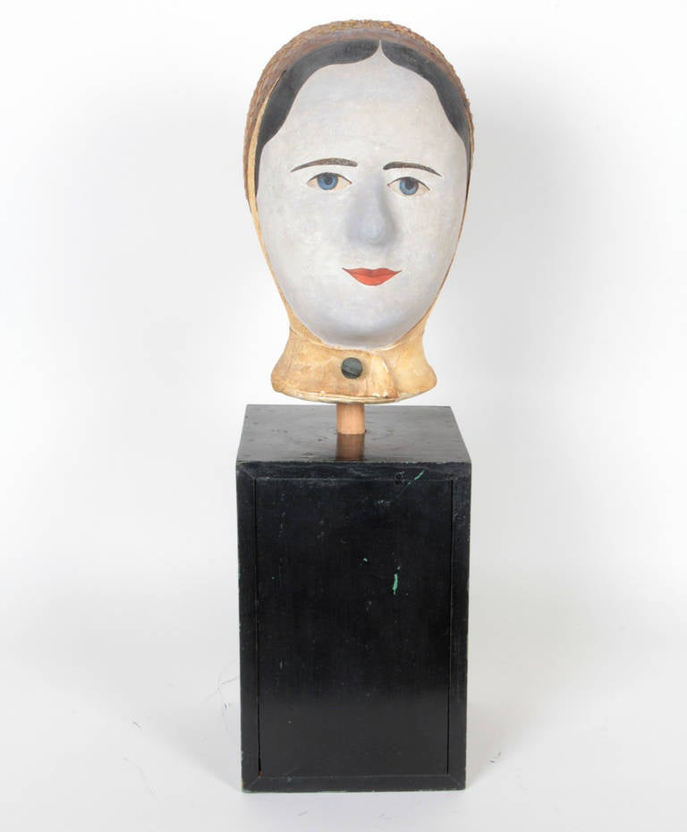 19th Century French Wig Stand by Louis Danjard For Sale 1