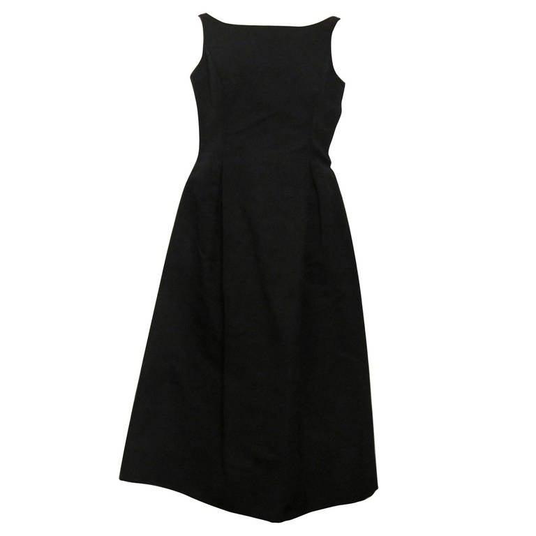 Isaac Mizrahi Couture Tea Length Gown At 1stdibs