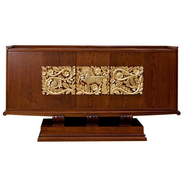 Fine Art Deco Sideboard Designed by Christian Krass For Sale