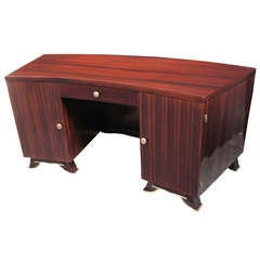 Fine Art Deco Desk Attributed to Jules Leleu