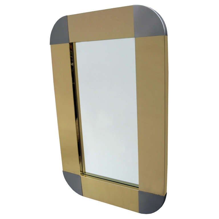 Curtis Jere Designed Modernist Mirror 1