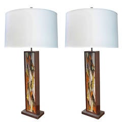 Pair of Lamps for Raymor