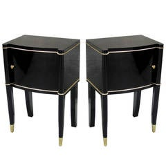 Pair Of Art Deco Small Cabinets