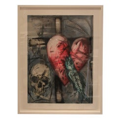 'The Garrity Necklace' Print by Jim Dine