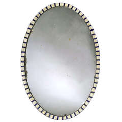 An Irish George III Oval Mirror (4473231)
