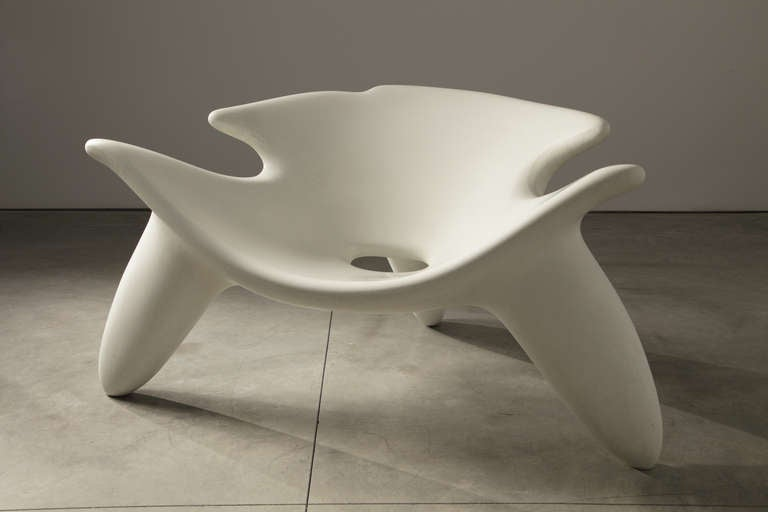 Wendell Castle Concrete Chair For Sale At 1stdibs
