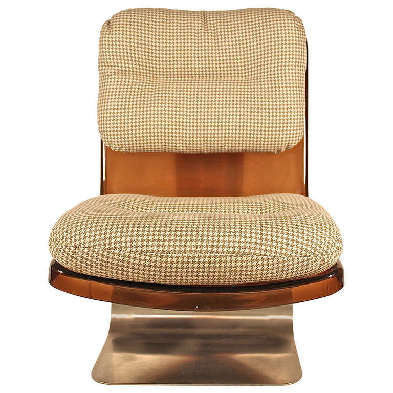 1970s lounge chair by grosfillex at 1stdibs - Chaises longues grosfillex ...