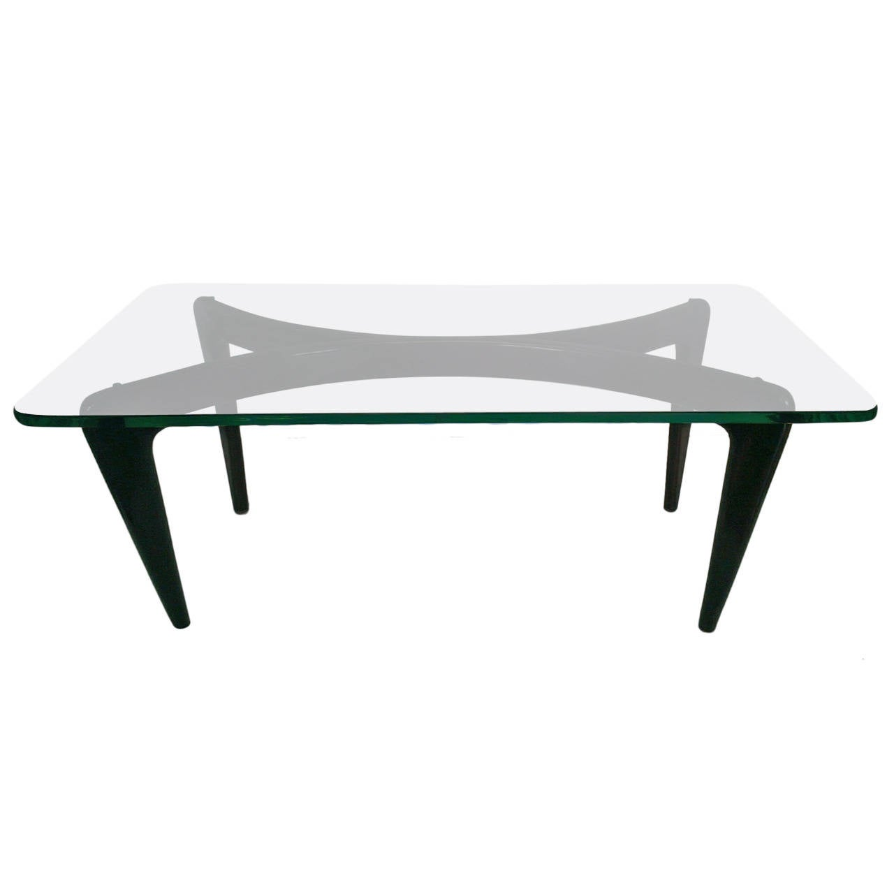 Extraordinary Coffee Table By Gio Ponti At 1stdibs